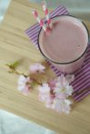 Cherry Chocolate Protein Smoothie