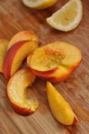 Nectarines and lemons